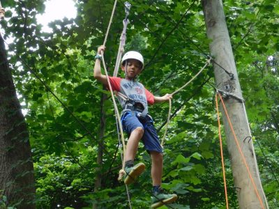 4-H encourages youth to overcome fears and face new challenges in a safe, supportive environment