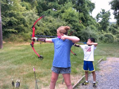 Archery is just one of the many amazing activities offered through 4-H